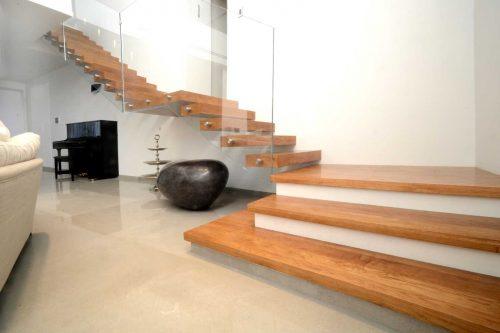 מדרגות משולבות /חיפוי שלח 3 מדרגות ראשונות / מהלך שני מרחפות