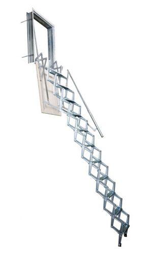 סולם סקארי / פתיחה אנכית - מקיר