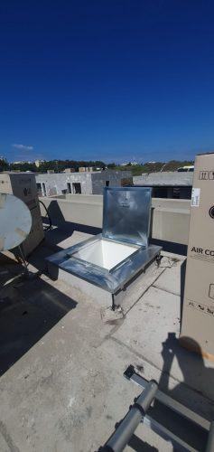 מכסה לגג הגנה מפני גשמים / ציפוי גילוון חם איכותי מפני חלודה